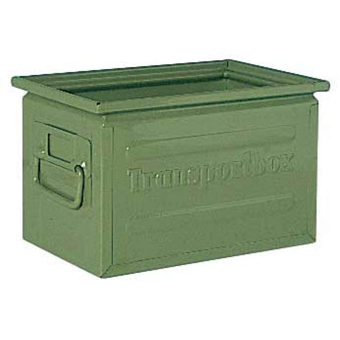 Caja met lica 202 2a transportbox contenedores - Contenedores metalicos apilables ...