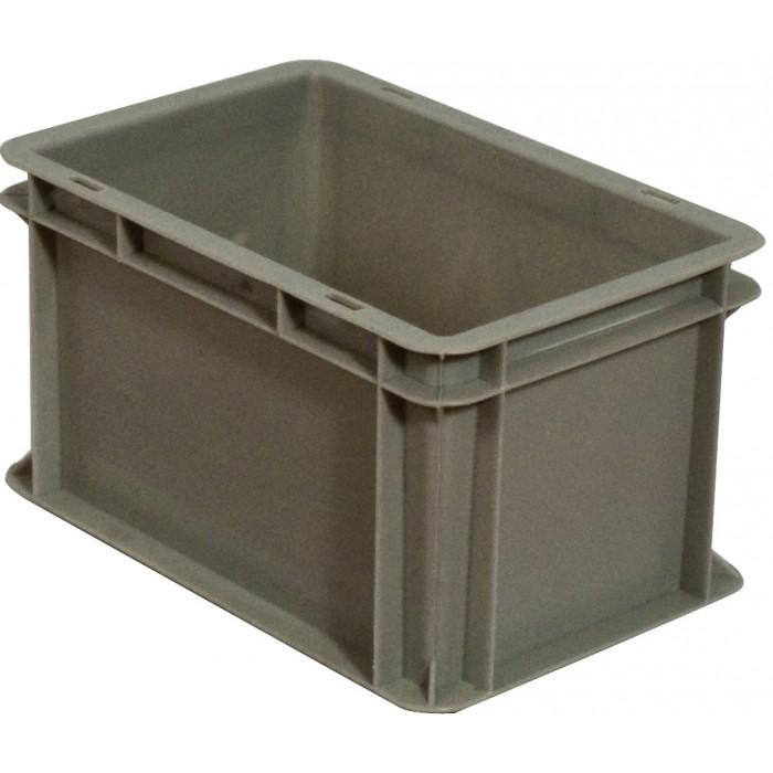 Caja de pl stico apilable norma europea eu 3217l - Caja almacenaje plastico ...