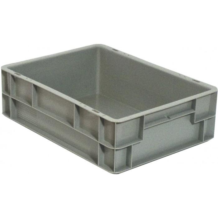Caja de pl stico apilable norma europea eu 4312l - Cajas de plastico ...