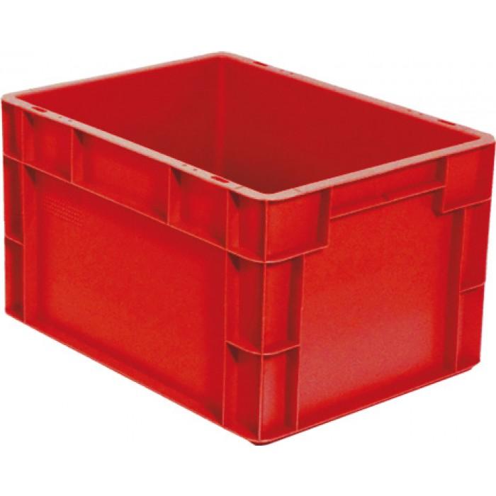 Caja de pl stico apilable norma europea eu 4323l - Caja almacenaje plastico ...