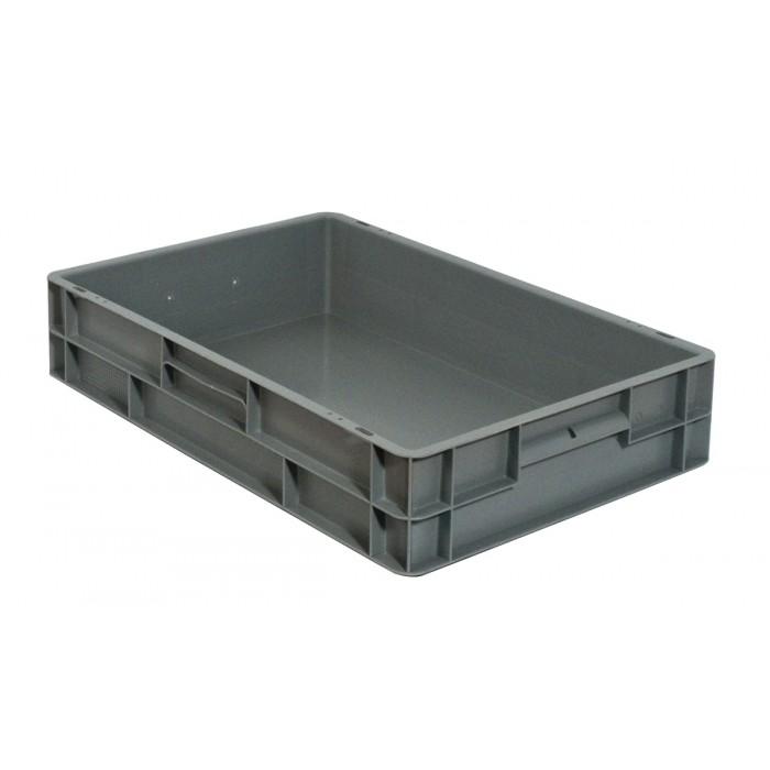 Caja de pl stico apilable norma europea eu 6412l - Cajas de plastico ...
