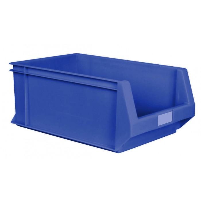 Caja de pl stico con abertura frontal k 300 1 - Cajas de plastico ...