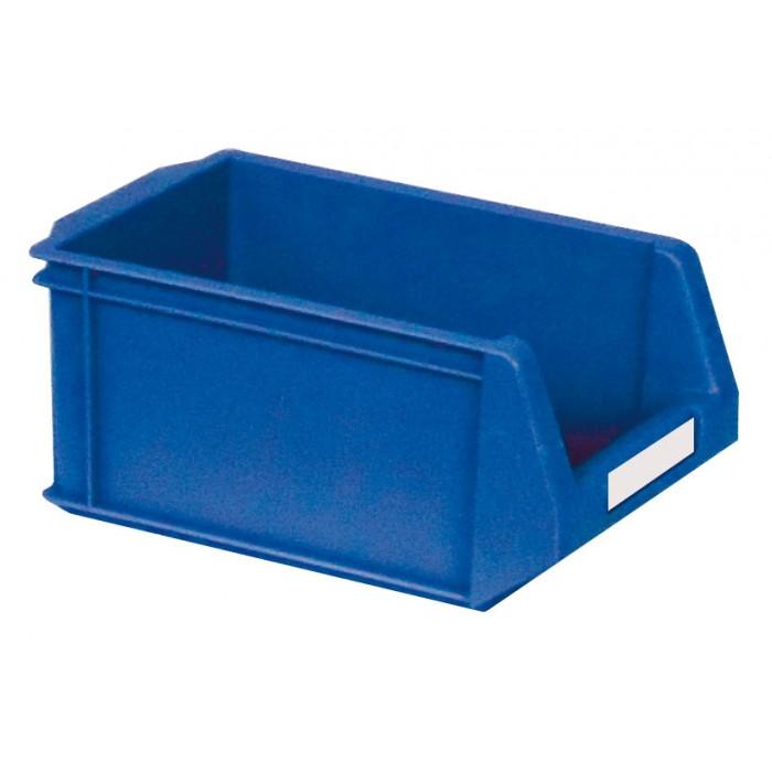 Caja de pl stico con abertura frontal k 300 5h - Cajas de plastico ...