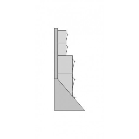 Cajones basculantes de plástico ABA-B