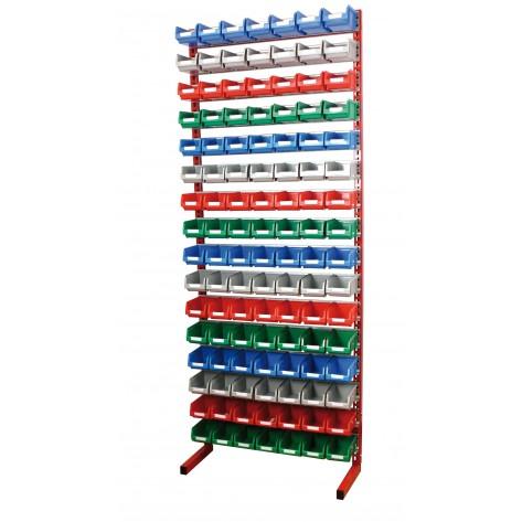 Estanterías metálicas para cajas de plástico PR-20/4 C/C