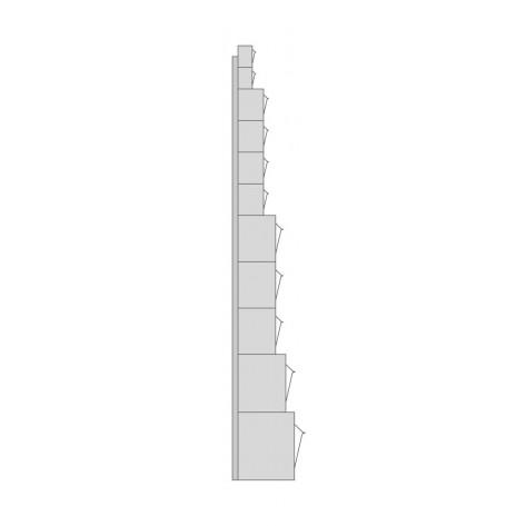 Cajones basculantes de plástico SBA-15B