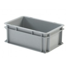 Caja de plástico apilable Norma Europea EU-3212L