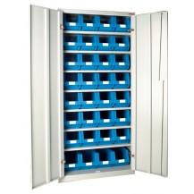 Armarios metálicos para cajas plásticas AP-7 C/C