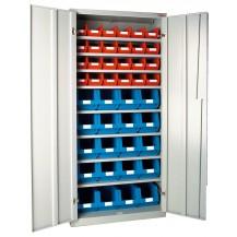 Armarios metálicos para cajas plásticas AP-8 C/C