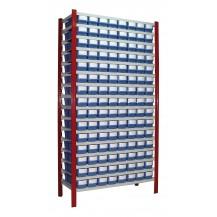 Estantería para cajas de plástico Regalbox EP50-COMBI4-C/C