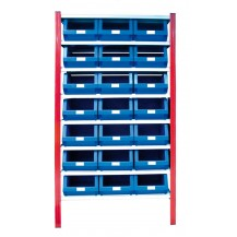 Estantería para cajas de plástico EP50-P1 C/C