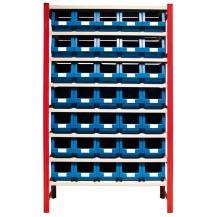Estantería para cajas de plástico EP50-P2 C/C