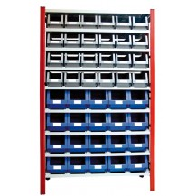 Estantería para cajas de plástico EP50-P2/3L C/C