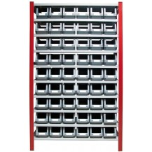Estantería para cajas de plástico EP50-P3L C/C