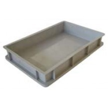 Caja de plástico apilable Norma Europea EU-6409L