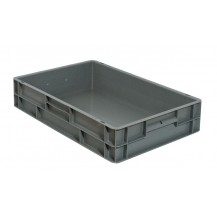 Caja de plástico apilable Norma Europea EU-6412L