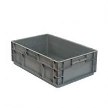 Caja de plástico apilable Norma Europea EU-6417LFR