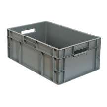 Caja de plástico apilable Norma Europea EU-6423L