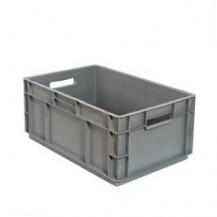 Caja de plástico apilable Norma Europea EU-6423LFR