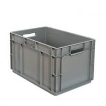 Caja de plástico apilable Norma Europea EU-6432LFR