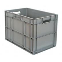 Caja de plástico apilable Norma Europea EU-6441L
