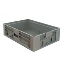 Caja de plástico apilable Norma Europea EU-8622L