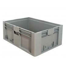 Caja de plástico apilable Norma Europea EU-8632L