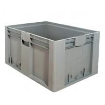 Caja de plástico apilable Norma Europea EU-8642L