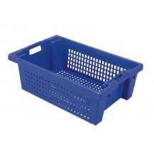 Caja de plástico apilable y encajable PO-6420R