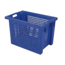 Caja de plástico apilable y encajable PO-6440R