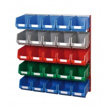 Soportes de pared para cajas plástico PR-10/3 C/C