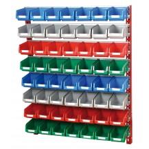 Soportes de pared para cajas plástico PR-10/4 C/C