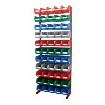 Estanterías metálicas para cajas de plástico PR-20/3 C/C