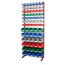 Estanterías metálicas para cajas de plástico PR-20/34 C/C