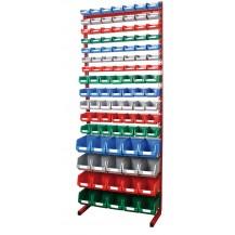 Estanterías metálicas para cajas de plástico PR-20/345 C/C