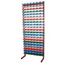 Estanterías metálicas para cajas de plástico PR-20/5 C/C