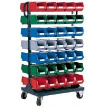 Carros para cajas de plástico RB-3 C/C
