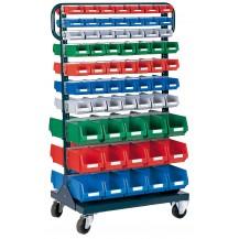 Carros para cajas de plástico RB-345 C/C