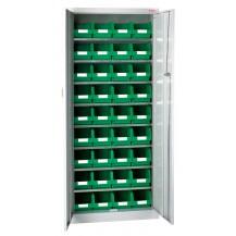 Armarios metálicos para cajas plásticas RS-1-C/C