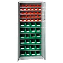 Armarios metálicos para cajas plásticas RS-2 C/C