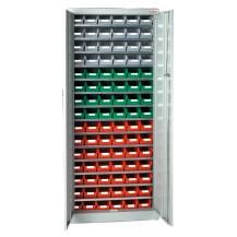 Armarios metálicos para cajas plásticas RS-3 C/C